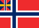 Norge Unions flag - 1844